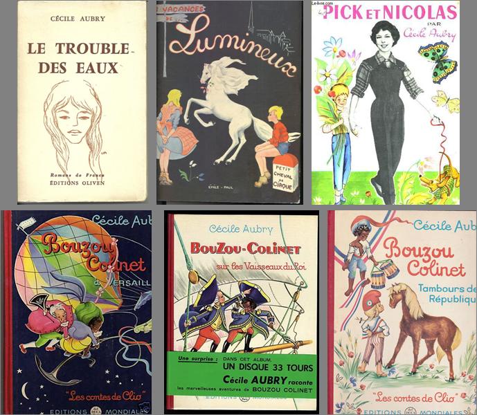 Livres pour enfants de Cécile Aubry