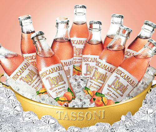 Tassoni Natural Peach Soda