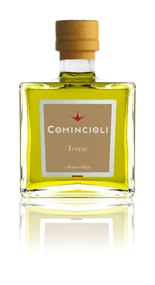 The aroma has hints of green almond, with a delicately bitter finish that recalls broccoli rabe.