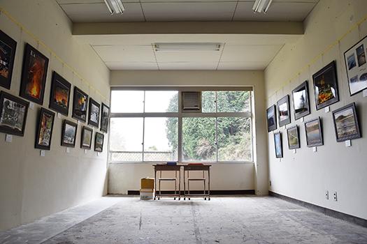 校舎内では様々な展示物も見ることができます
