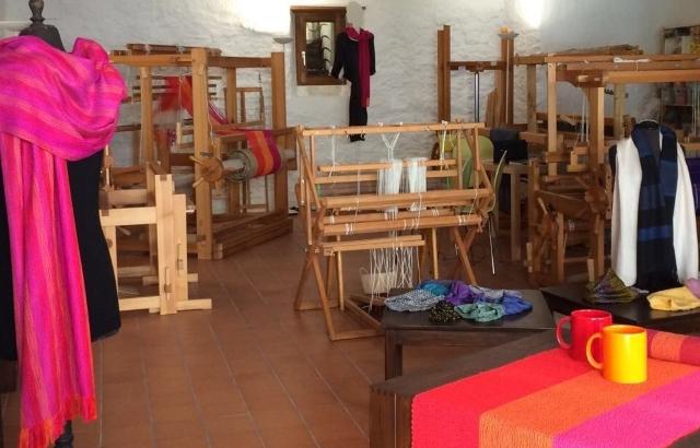 Atelier de tissage à St-Ursanne