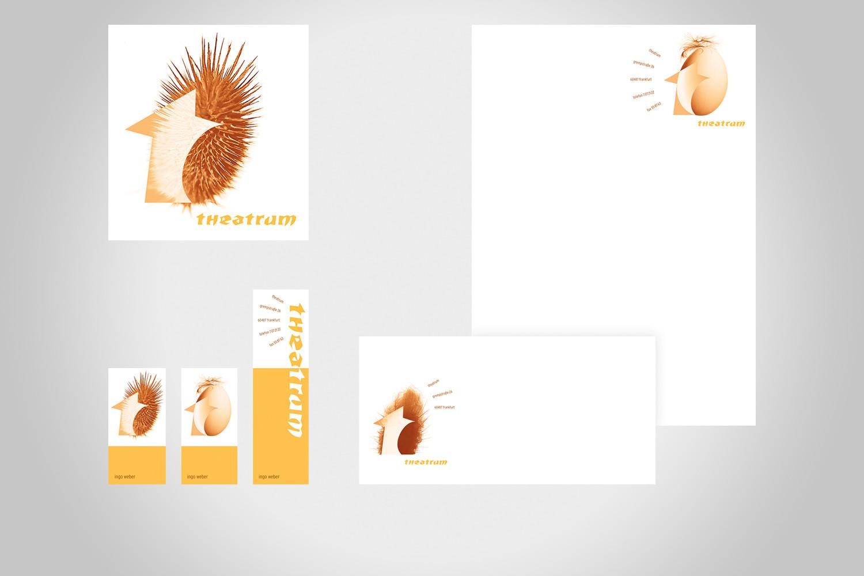 logo & geschäftsausstattung, theatrum friseure