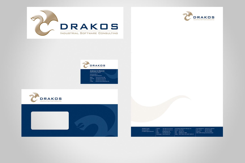logo & geschäftsausstattung, drakos gmbh