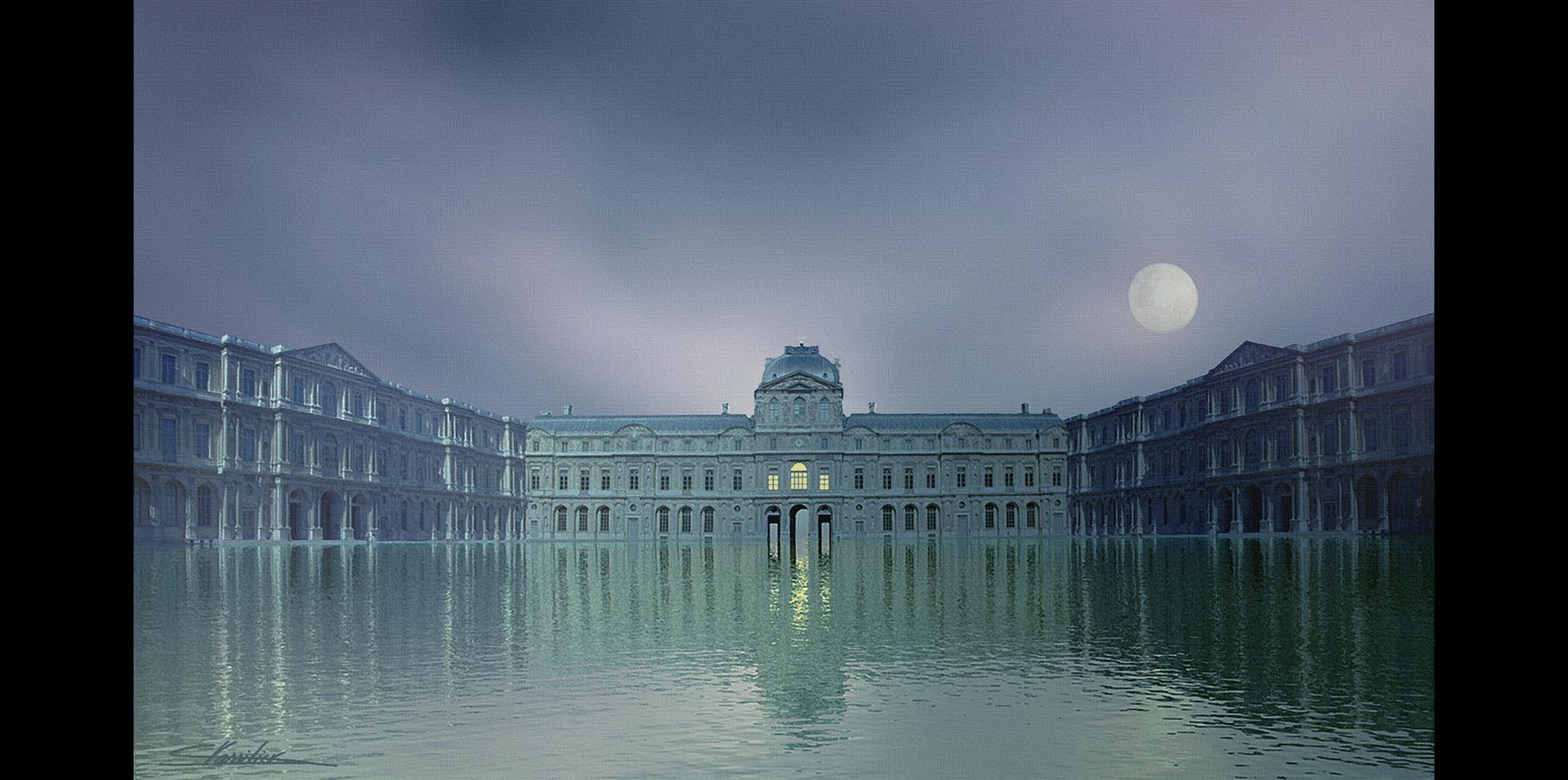 Cour Carrée du Louvre 2004
