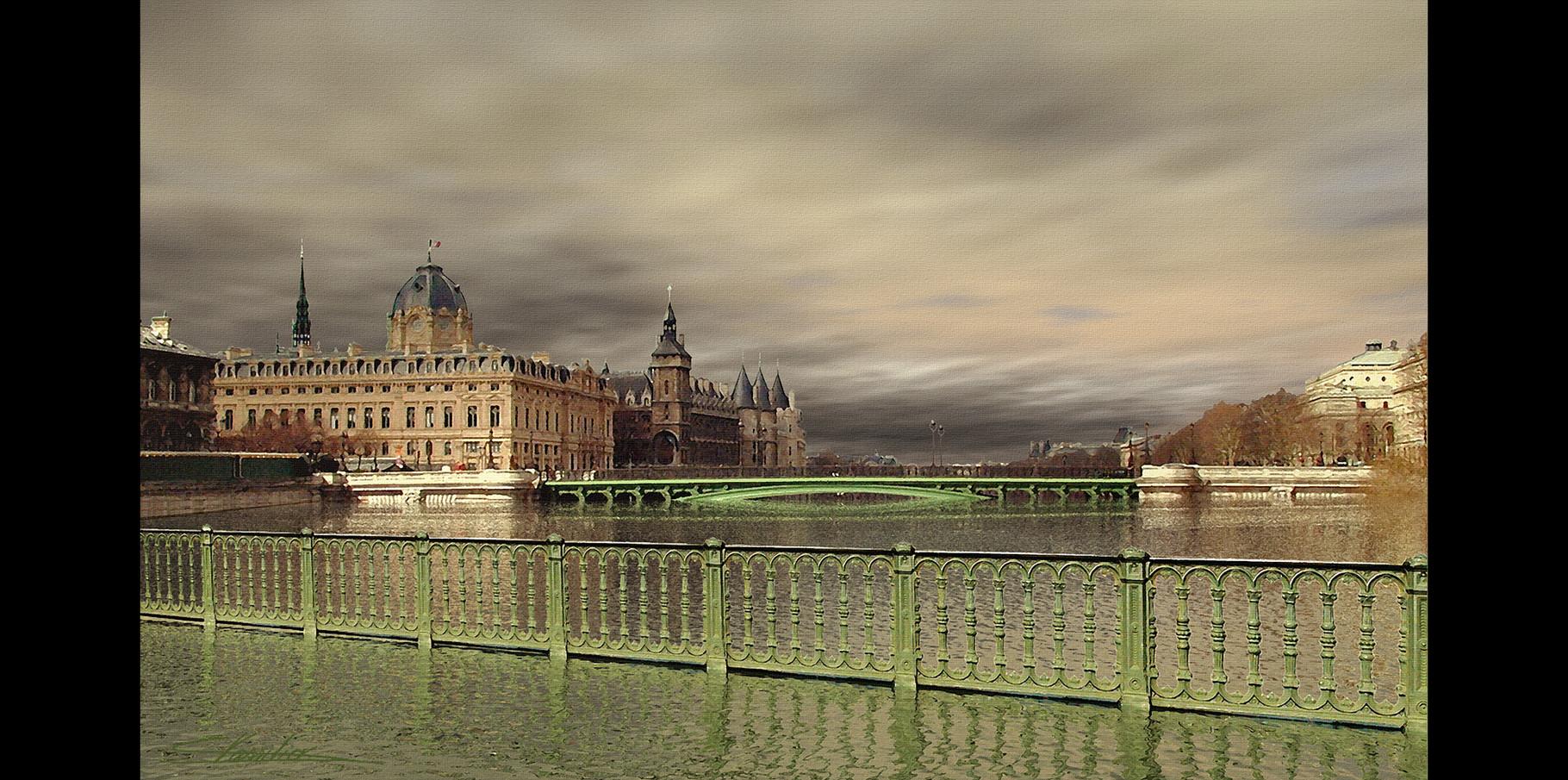Pont Notre Dame et pont au Change  2004