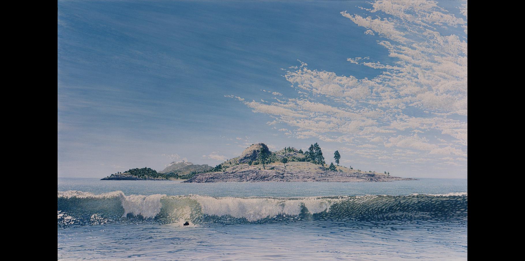 Acrylique sur toile 1988