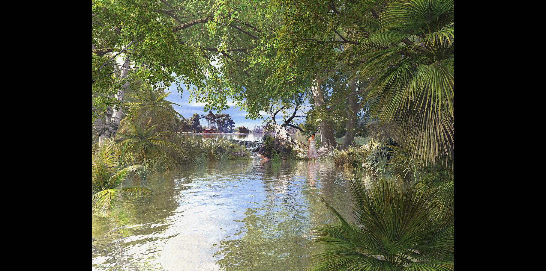 Lac du Bois Boulogne  2005