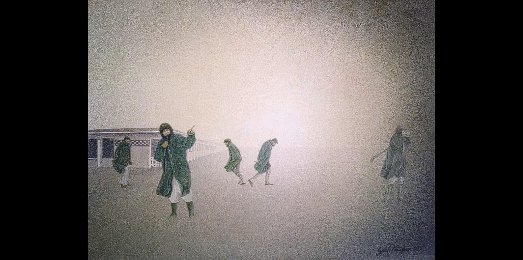 Deauville - acrylique sur toile