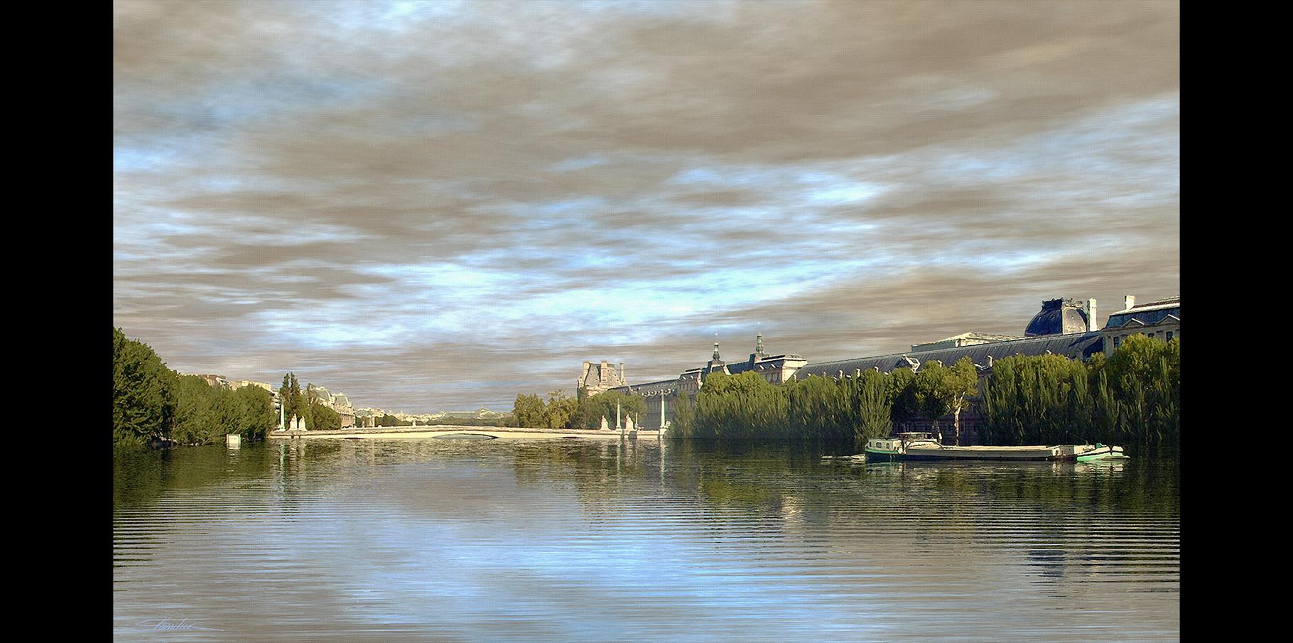 Pont du Carrousel  2004