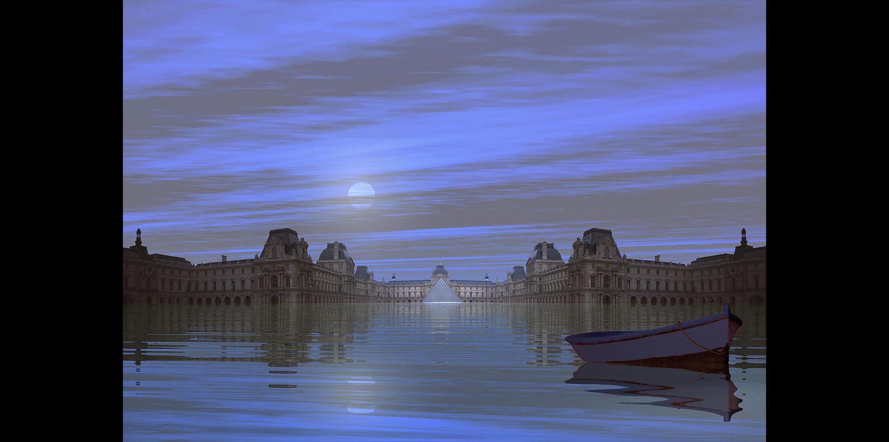 Pyramide du Louvre  2004