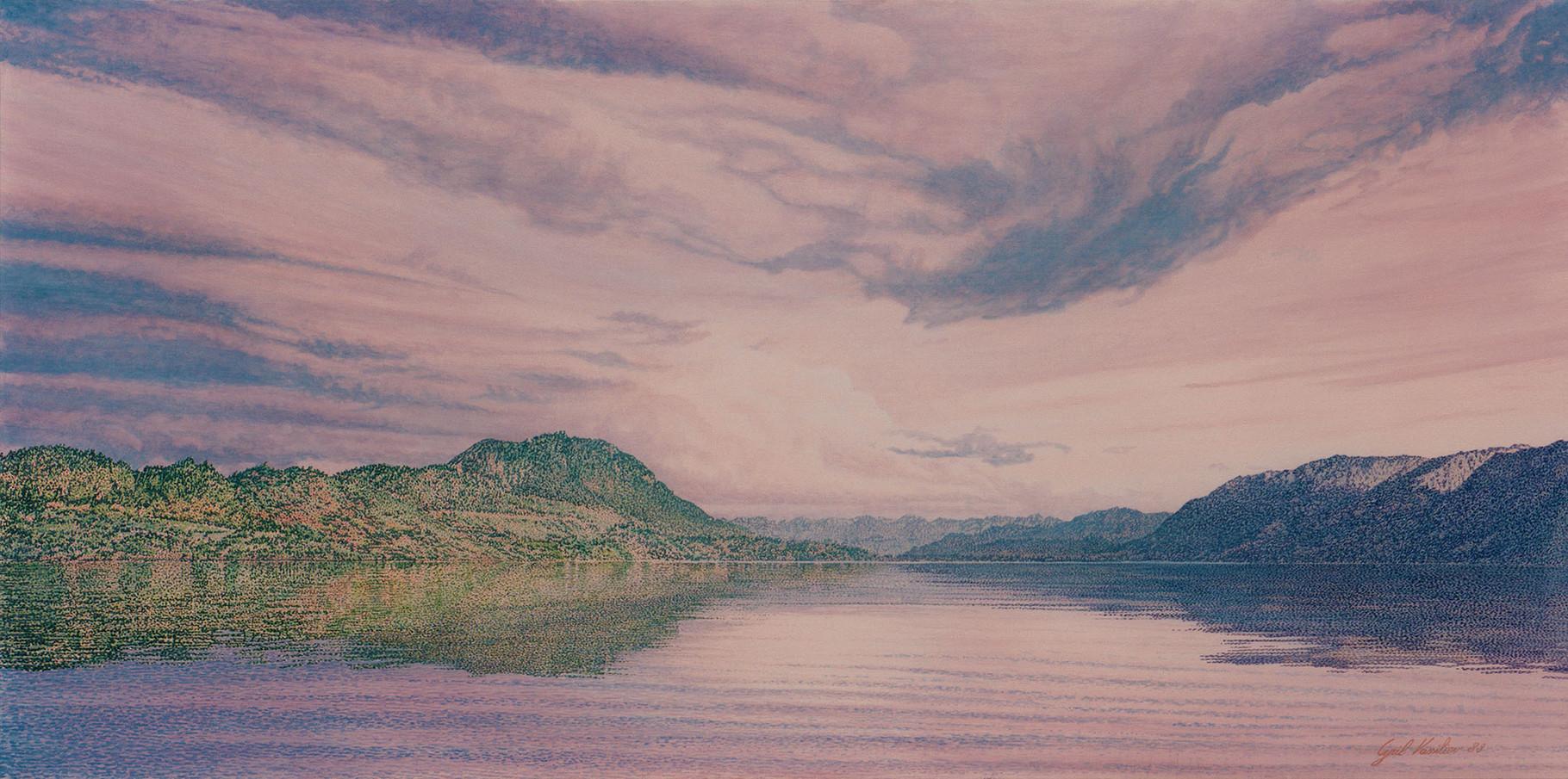 Ranco   Acrylique sur toile  1989