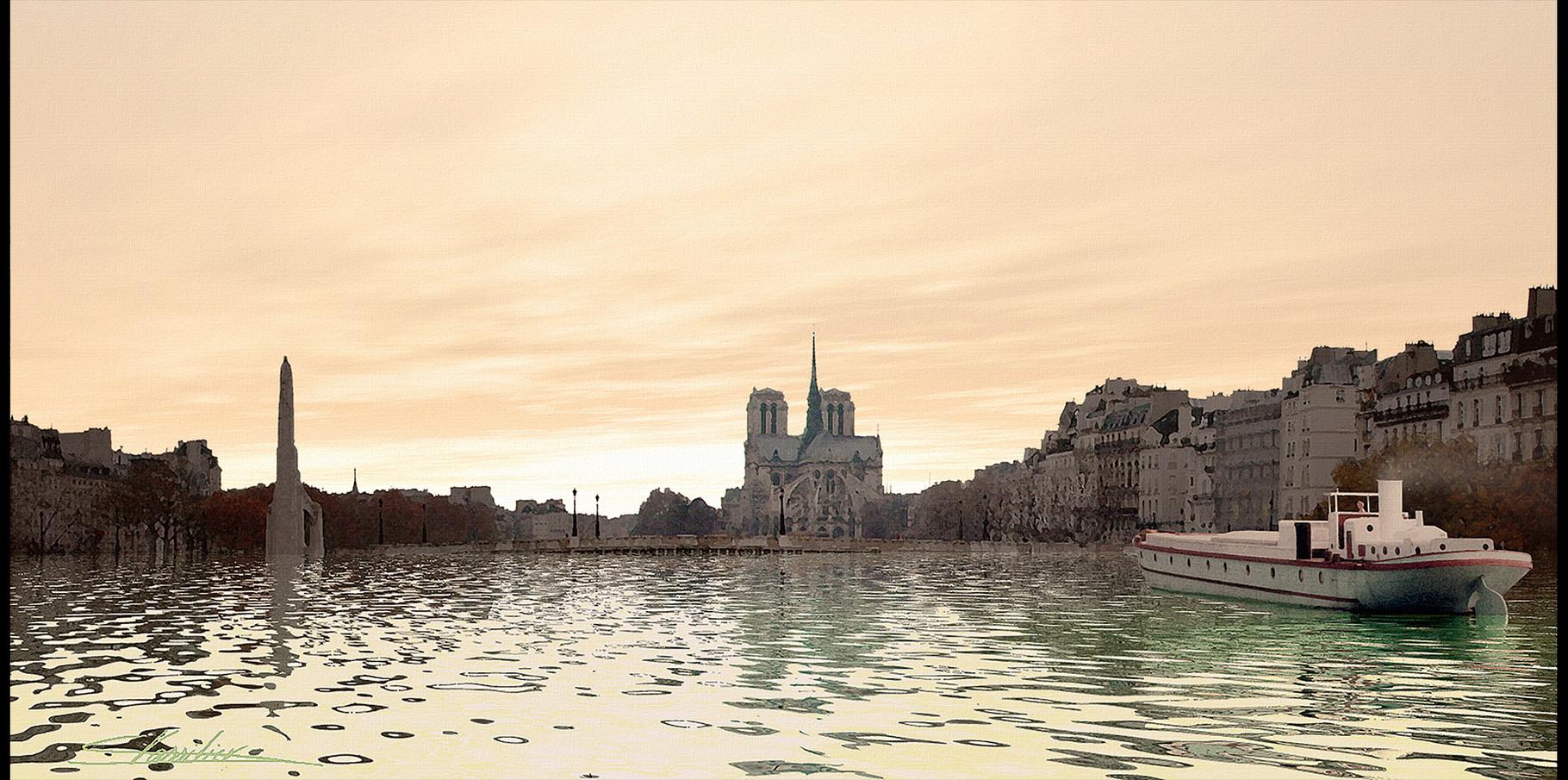 Notre Dame de Paris _ Pont de laTournelle  2004