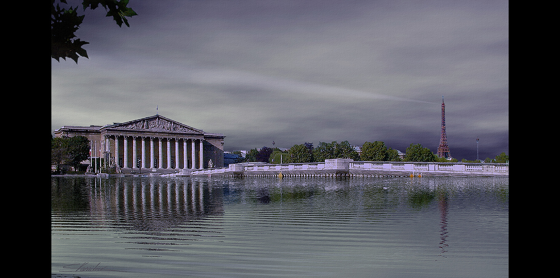 Assemblée nationale et Pont de la Concorde  2004
