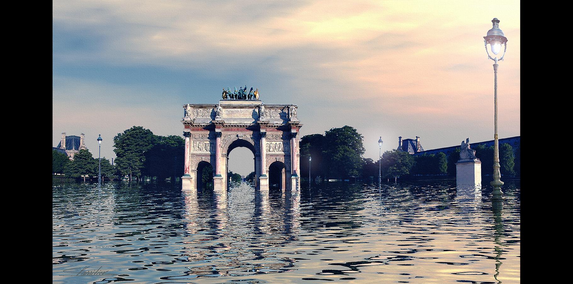 Arc de triomphe du Carrousel  2004