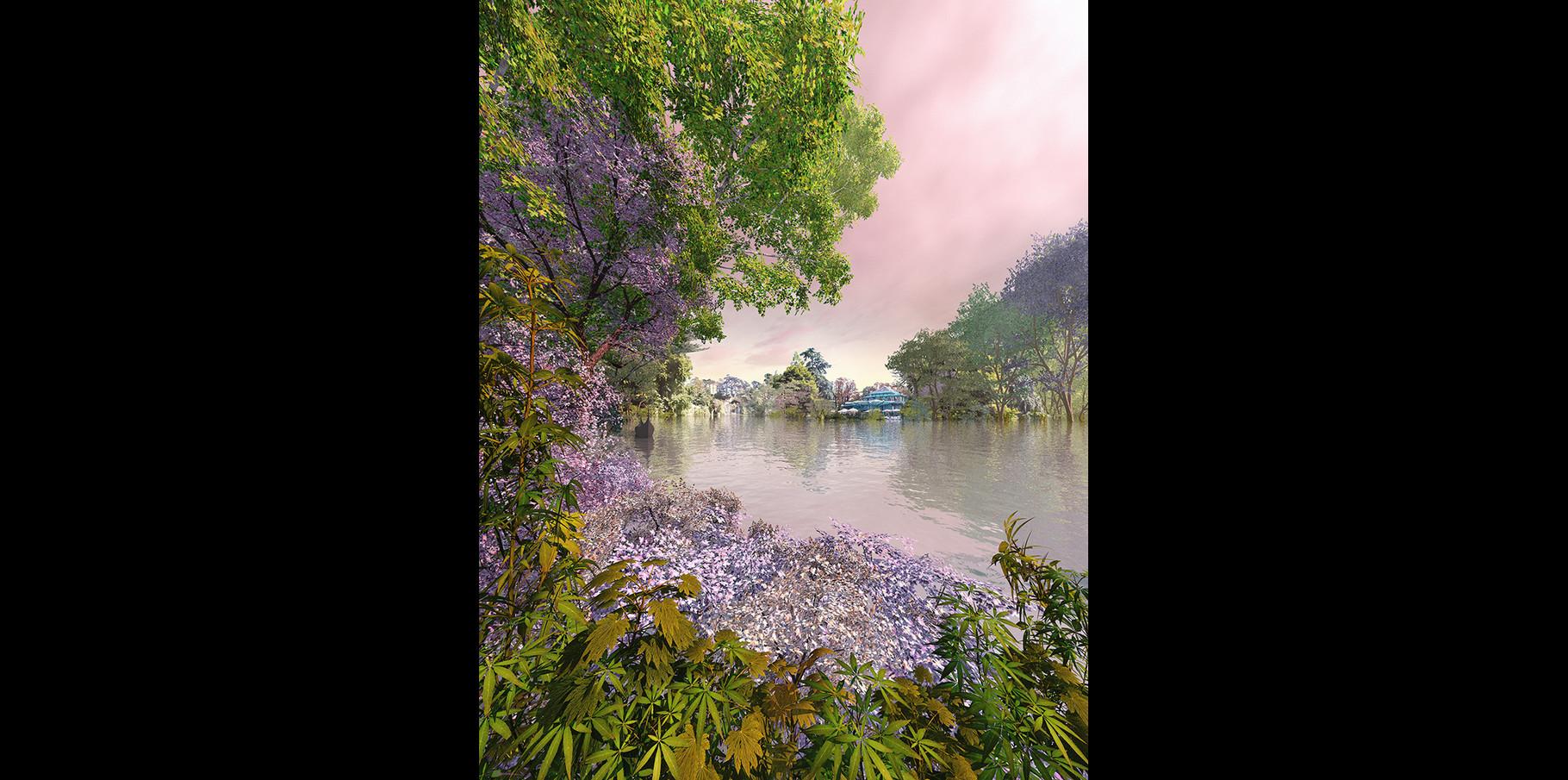 Cascade du Bois de Boulogne  2005