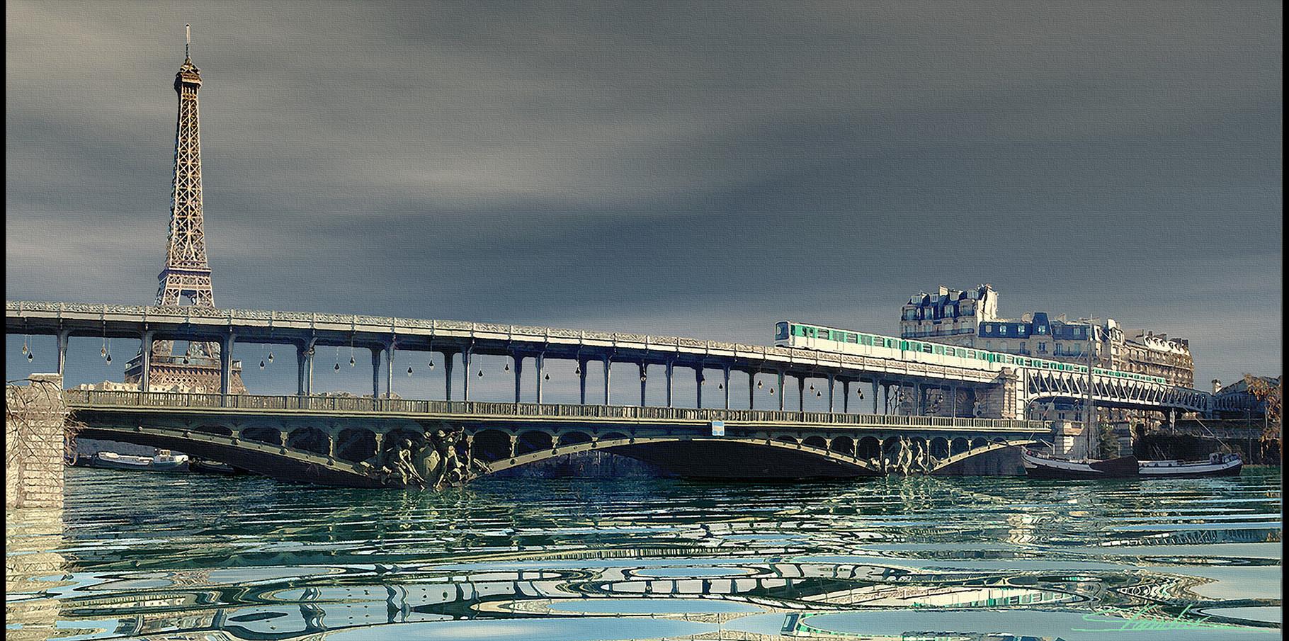 Pont de Bir-Hakeim  2004