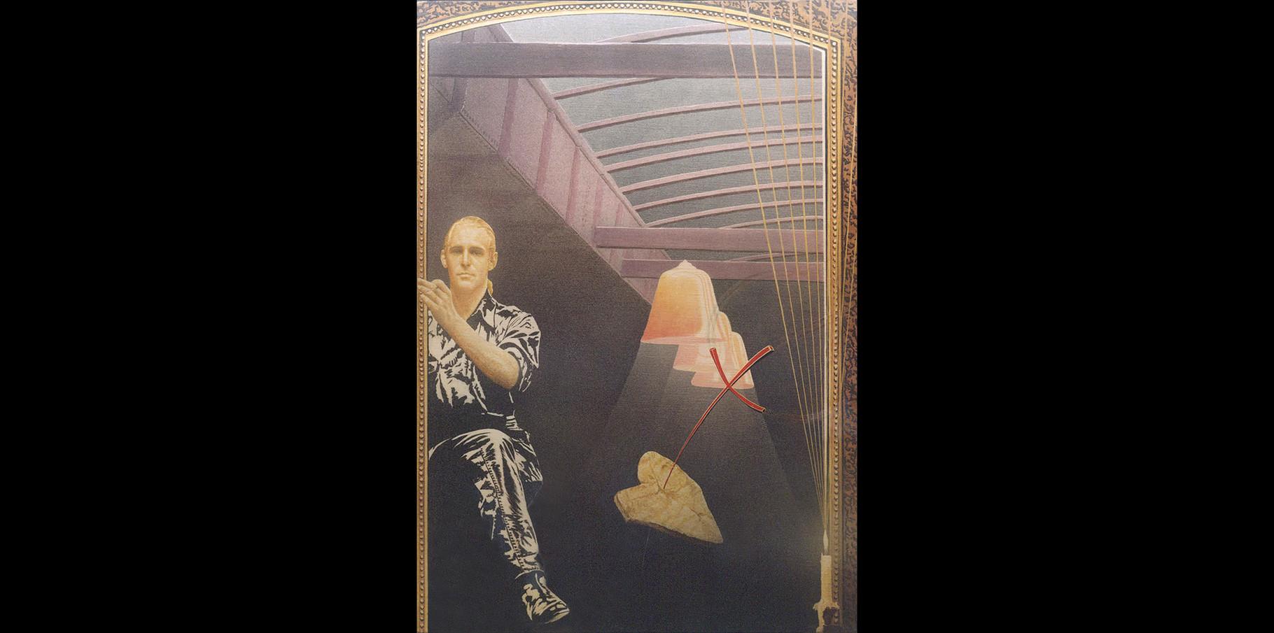 Autoportrait - acrylique sur toile