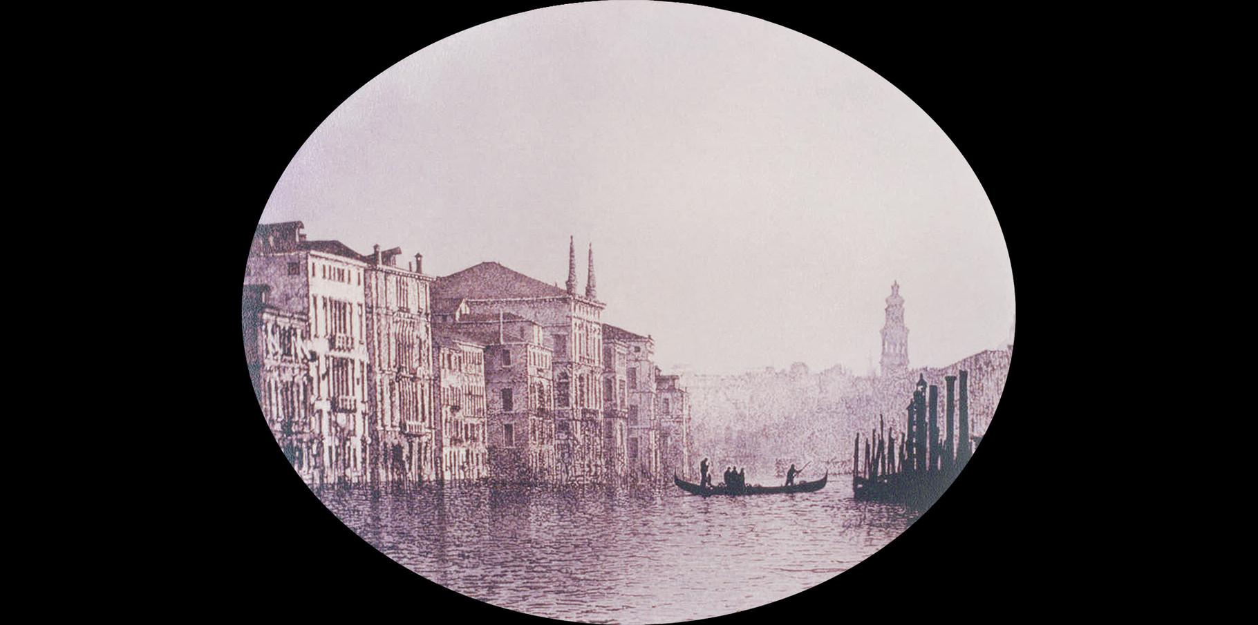Le Grand Canal   Acrylique sur toile