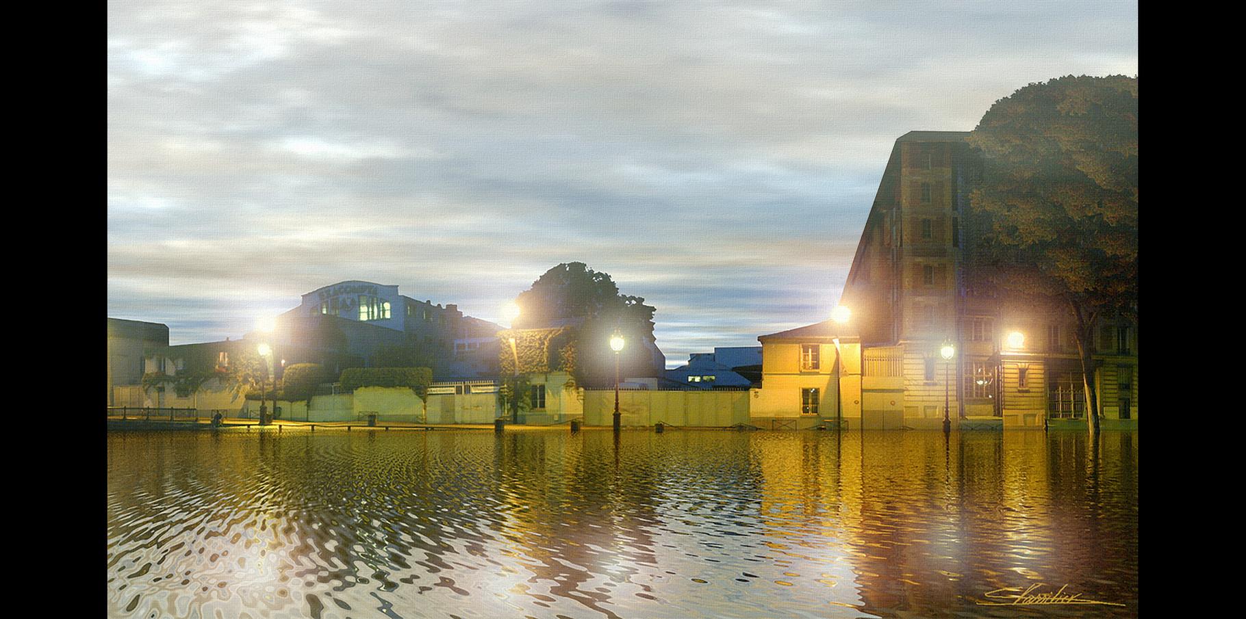 Canal Saint-Martin  2004
