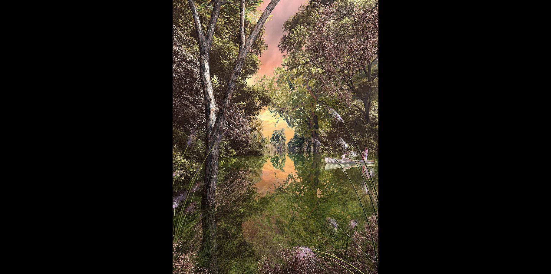 Bois de Boulogne   130x89  2005
