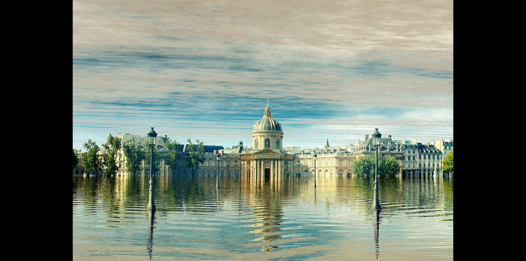 L'institut de France et le Pont des Arts  2004