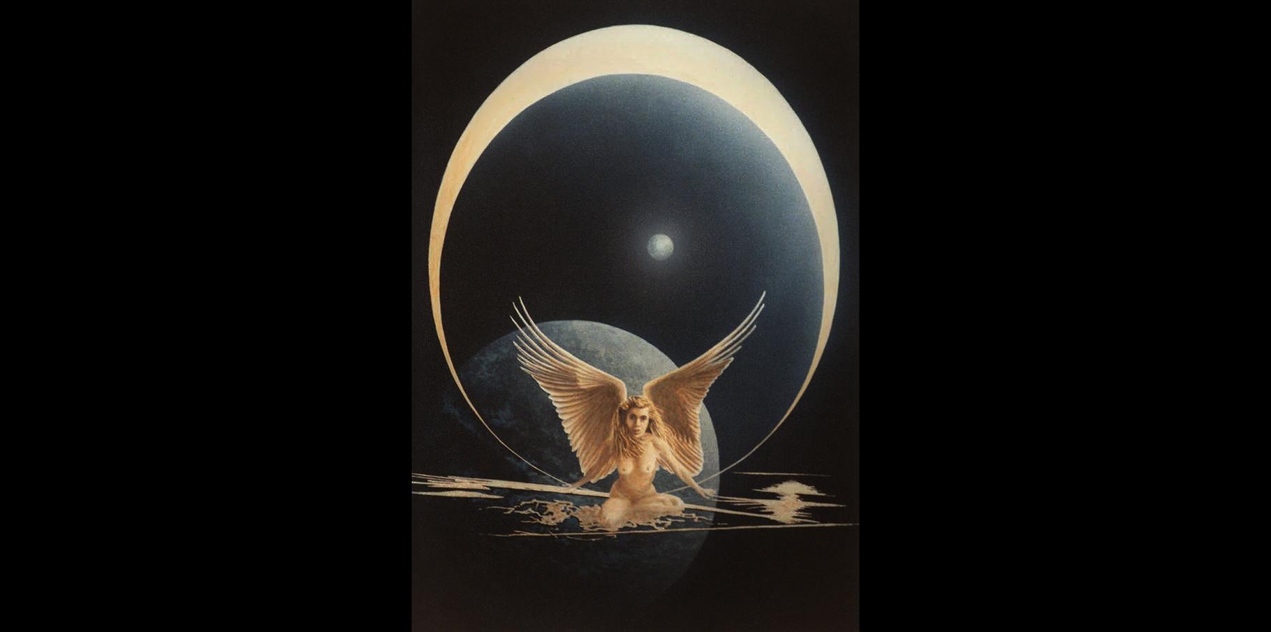 Cosmos  - acrylique sur toile