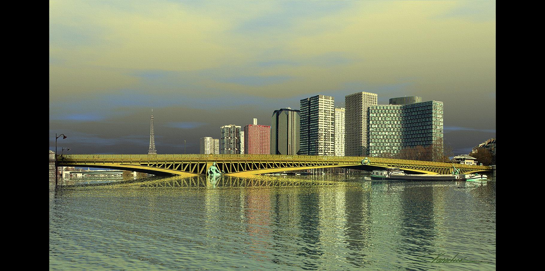 Pont Mirabeau  2004