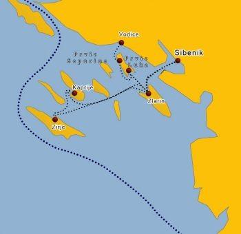 Inseln vor Vodice