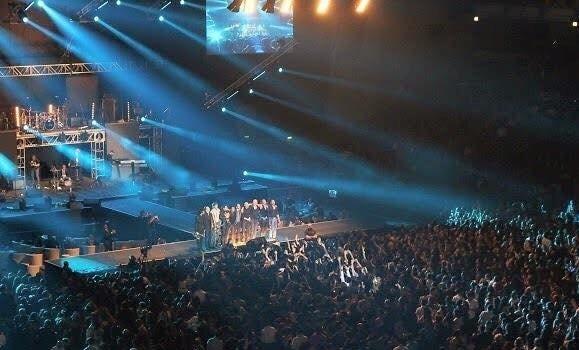 Oberhausen Arena mit Shadmehr Aghili und Band