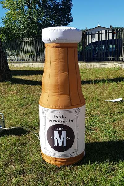 Bottiglia Dr Meraviglia gonfiabile mt 1,50 h