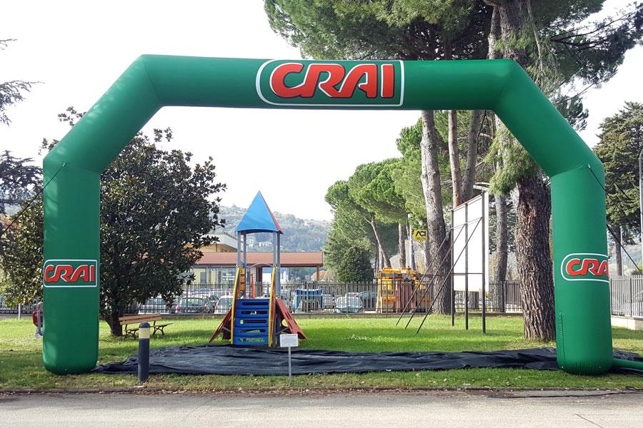 Arco Gonfiabile XLarge CRAI - grafica fissa