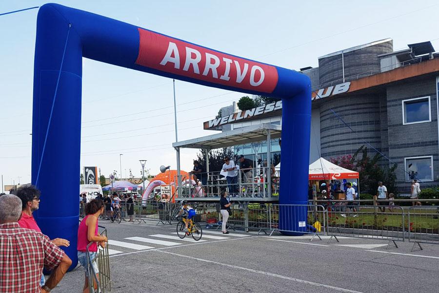 Arco Gonfiabile Rettangolare Standard - Banner rimovibili