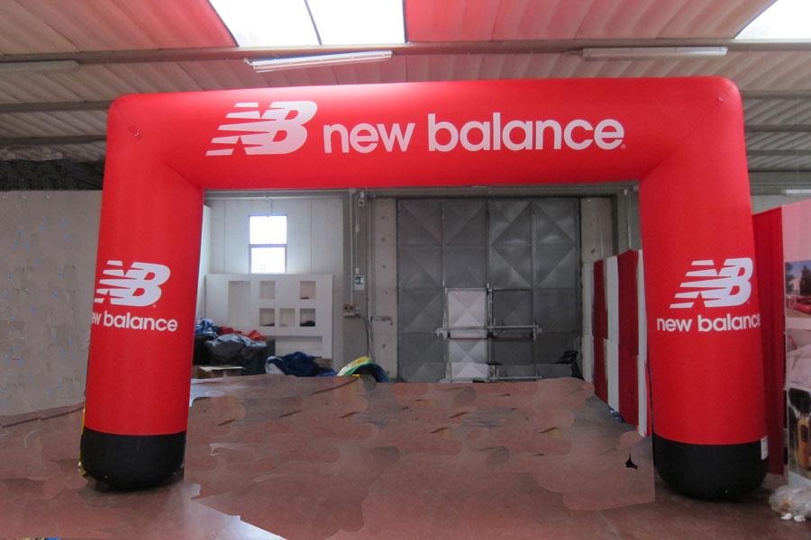 Arco Rettangolare New Balance  - grafica fissa