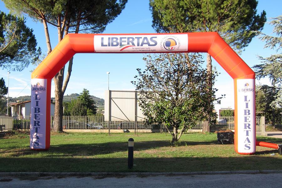 Arco Gonfiabile XLarge - banner rimovibili