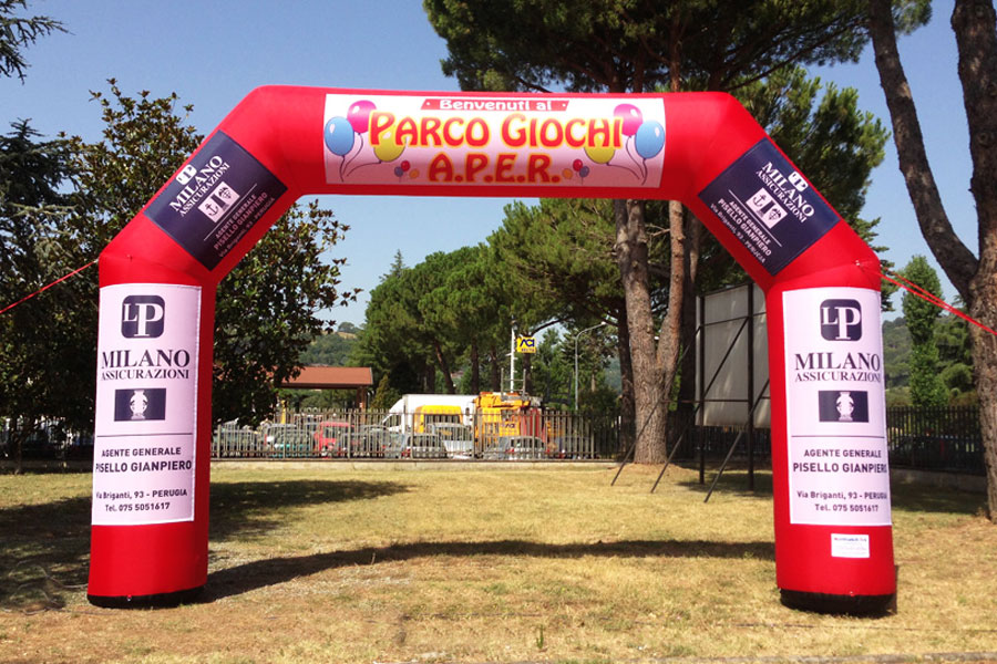 Arco Gonfiabile XSmall - banner rimovibili