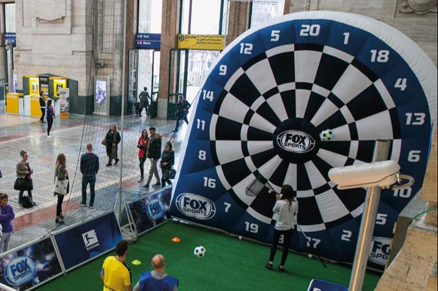 FOX Sports Foot Darts 6mLx5mHx1,5mP
