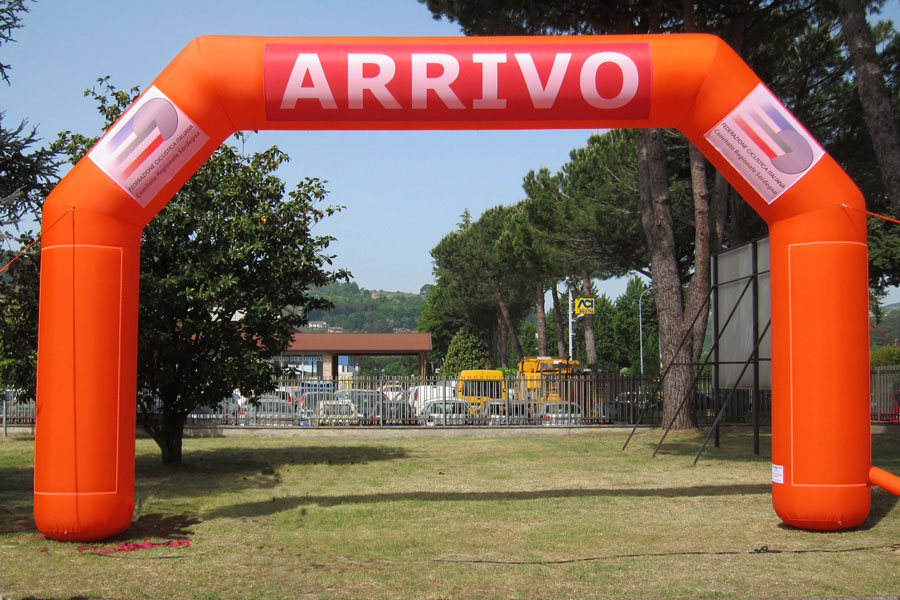 Arco Gonfiabile Standard - banner rimovibili