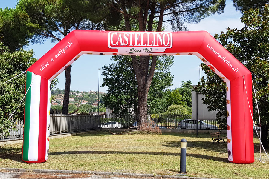 Arco Gonfiabile Castellino - grafica fissa