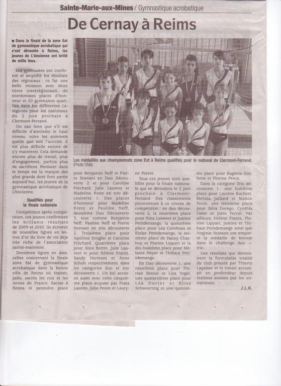 EN ROUTE POUR LES CHAMPIONNATS DE FRANCE à CLERMONT - FERRAND