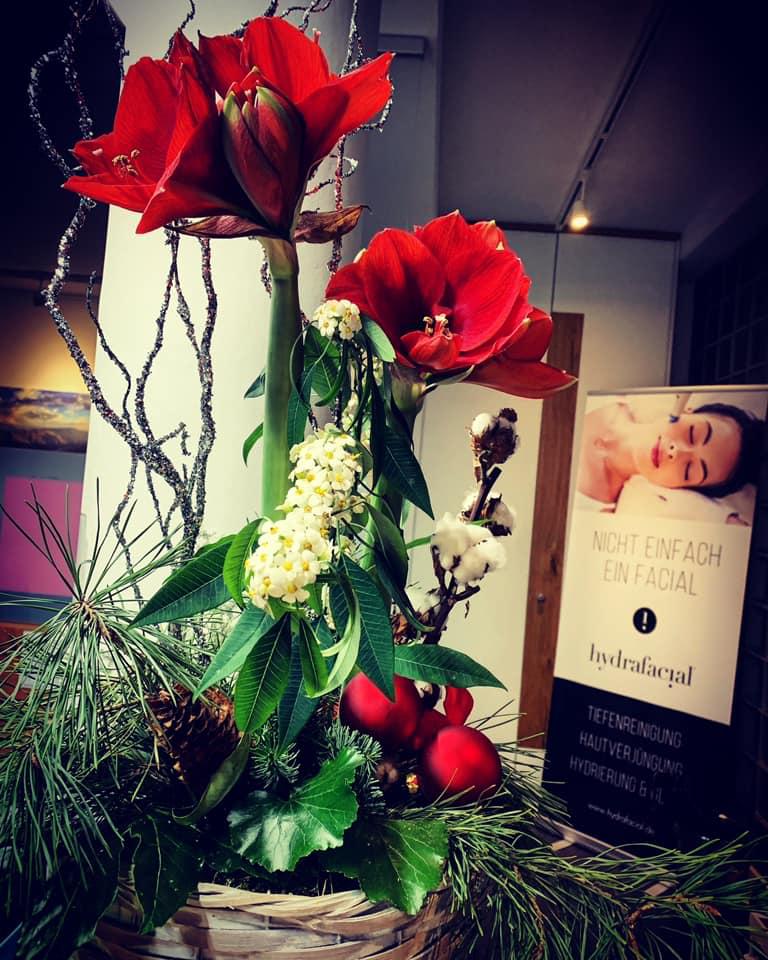Frohe Weihnachten und einen guten Rutsch wünscht die Hautarztpraxis Daniela Billep