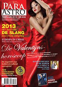 Zakenmedium Cleopatra in Para Astro magazine
