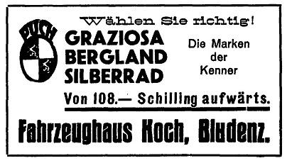 Quelle: Österr. Nationalbibliothek, Bludenzer Anzeiger, 13. Juni 1936