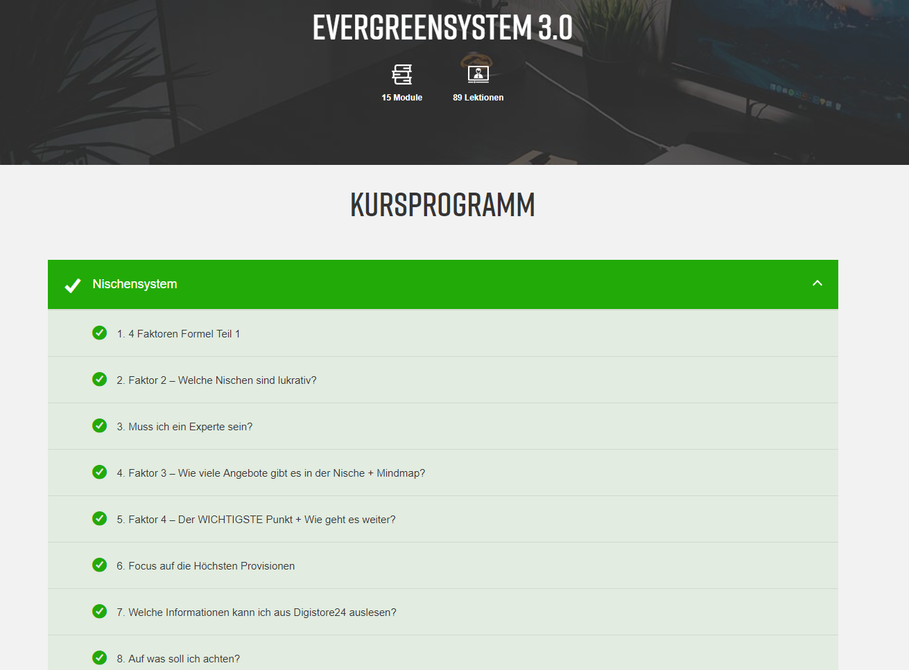 Evergreensystem von Said Shiripour