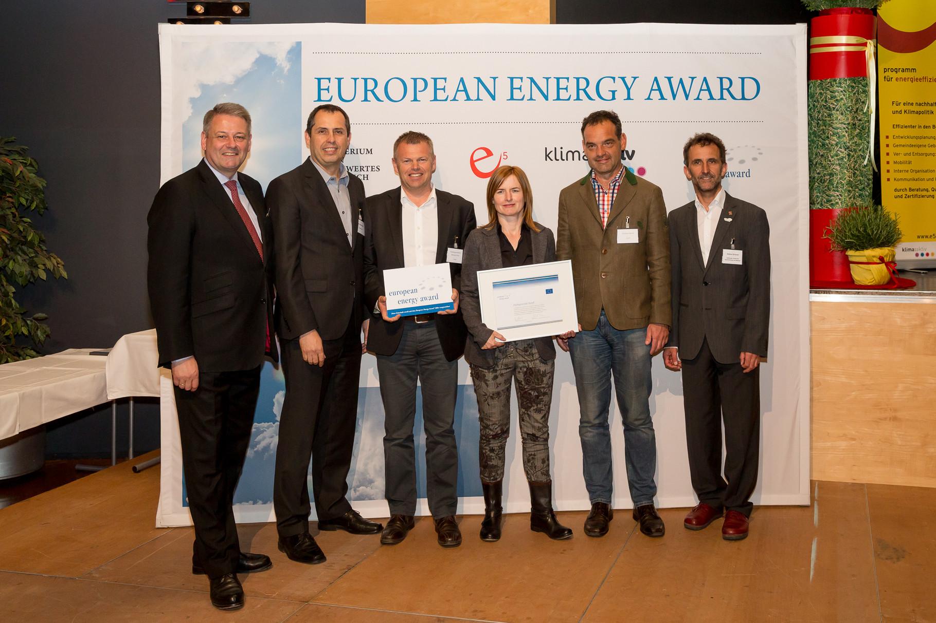höchste Auszeichnung auf europäischer Ebene für Kundl