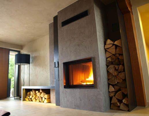 Kamin design wandgestaltung stucco decor kreative spachteltechnik und wandgestaltung - Design wandgestaltung ...
