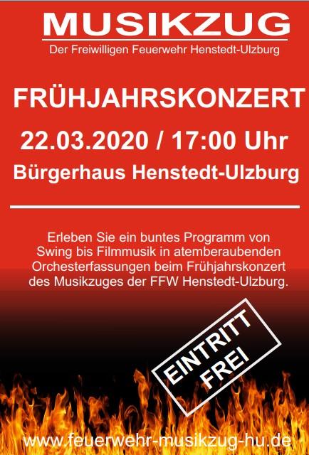 Frühjahrskonzert Musikzug Henstedt-Ulzburg