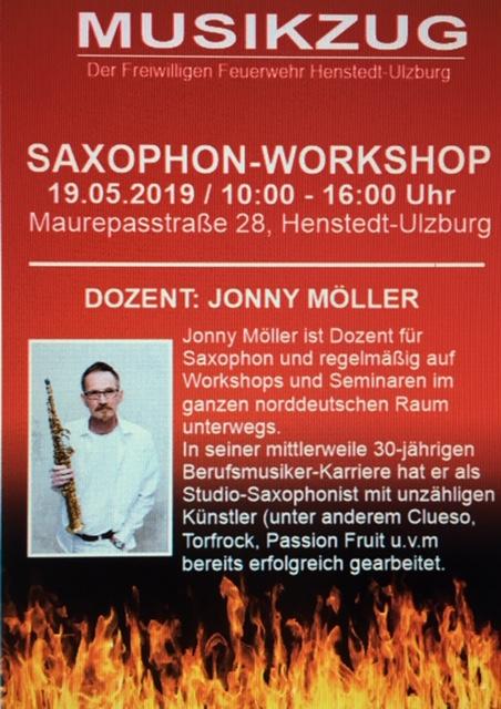 Saxophon-Workshop mit Jonny Möller