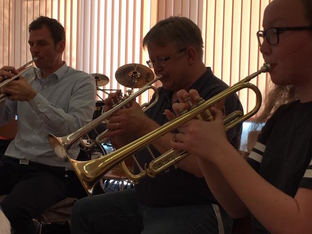 Trompetenworkshop im Orchester