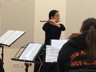 UNser Querflöten-Workshop mit Teruyo Takada
