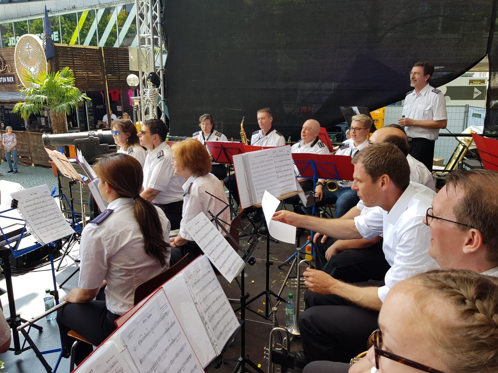 Ein Blick auf die Bühne bei der Kieler Woche 2019